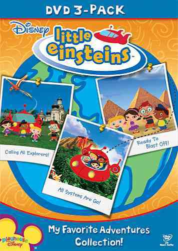 DISNEY LITTLE EINSTEINS FALL 2008 3 P BY LITTLE EINSTEINS (DVD)